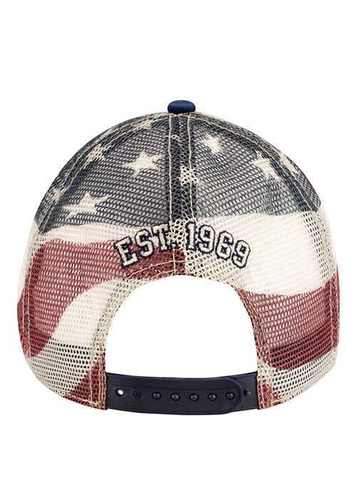 Dover International Speedway American Flag Mesh Hat