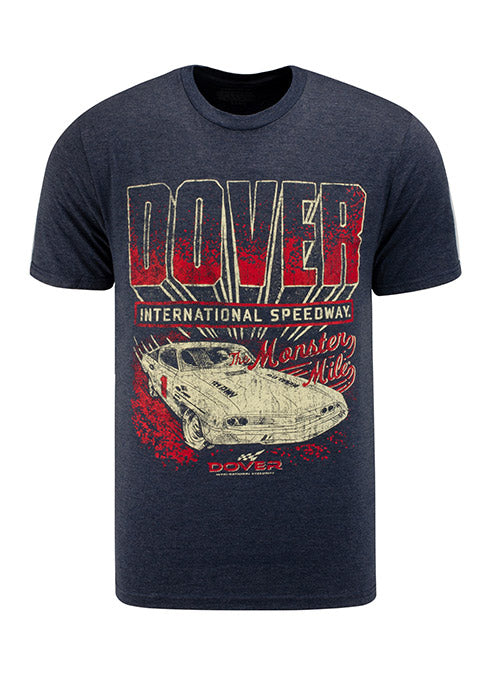 Dover International Speedway Retro Car T-Shirt