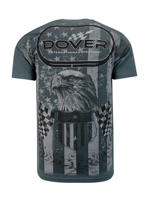 Dover International Speedway All Over Print Pocket T-Shirt