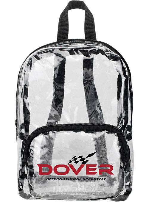 Dover International Speedway MINI Clear Backpack