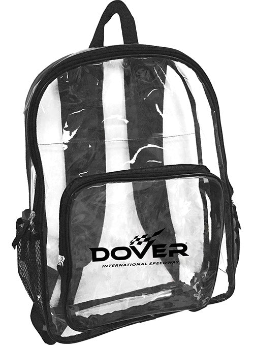 Dover International Speedway Clear Backpack