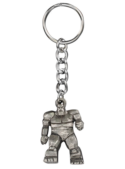 Dover International Speedway Monster Mile Pewter Keychain
