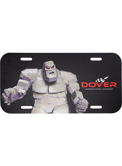 Dover International Speedway Plastic License Plate