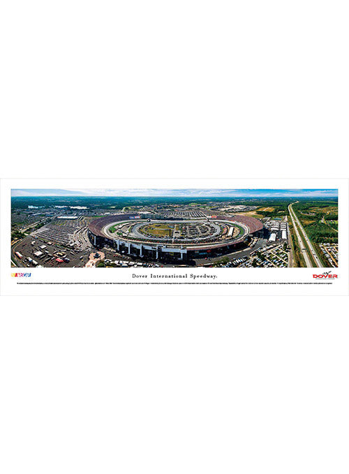 Dover International Speedway Unframed Panoramic Photo