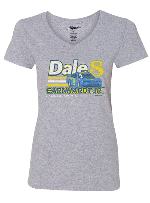 Ladies Dale Earnhardt Jr. Hellman's Darlington Car T-Shirt