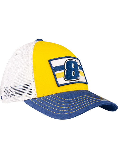 Dale Earnhardt Jr. # 8 Adjustable Hat Yellow