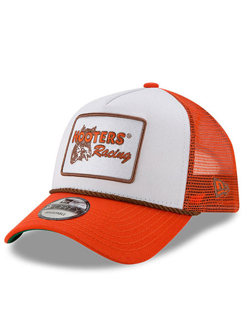 New Era Chase Elliott Hooters Vintage A-Frame Trucker Hat