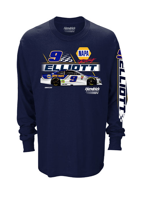 Chase Elliott Long Sleeve Car T-Shirt