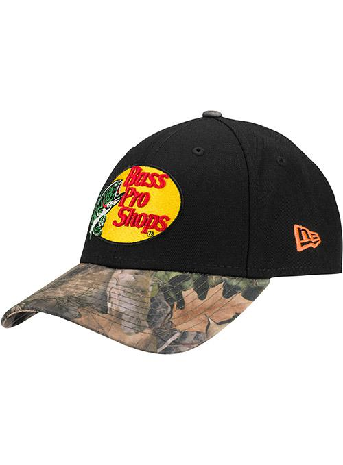 New Era Martin Truex Jr. Bass Pro Shops Camo Bill Adjustable Hat