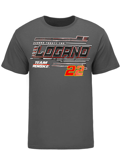 Joey Logano Car Graphic T-Shirt