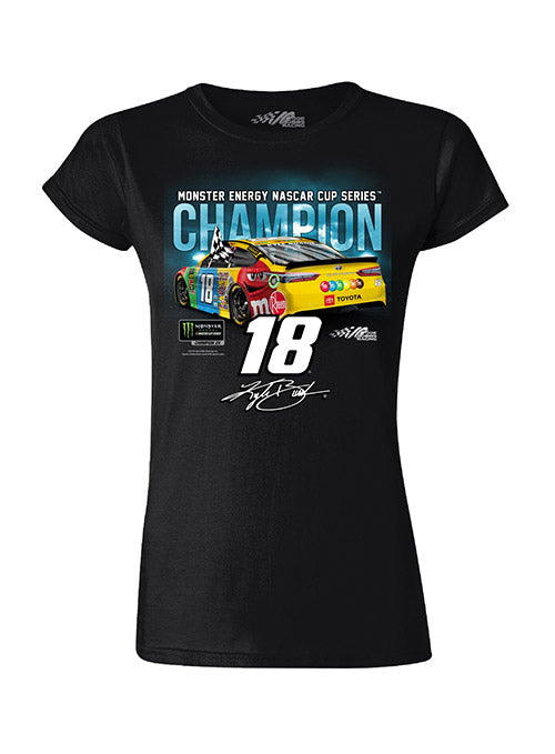Ladies 2019 Kyle Busch NASCAR MENCS Champion Shirt