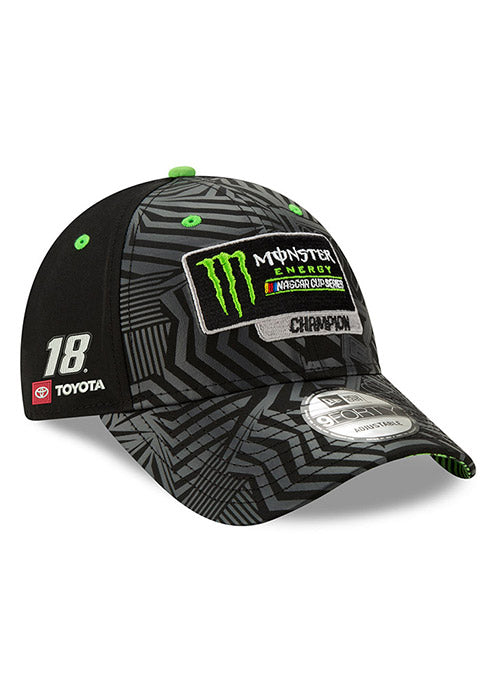 2019 New Era Monster Energy NASCAR Cup Series Kyle Busch Champion Hat