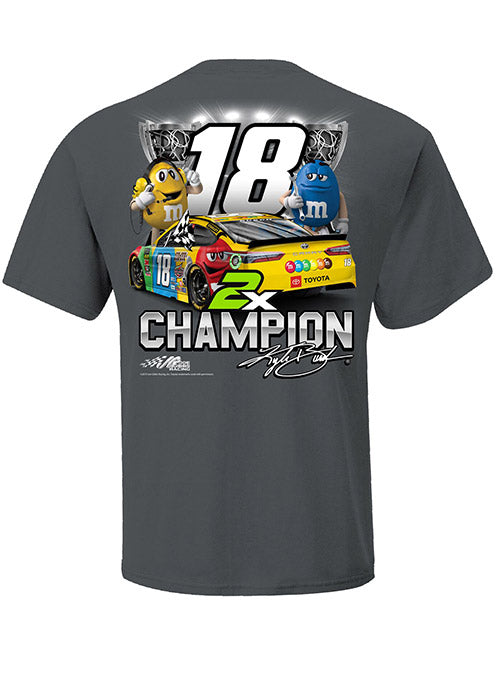 2019 Kyle Busch NASCAR 2-Time Champion T-Shirt