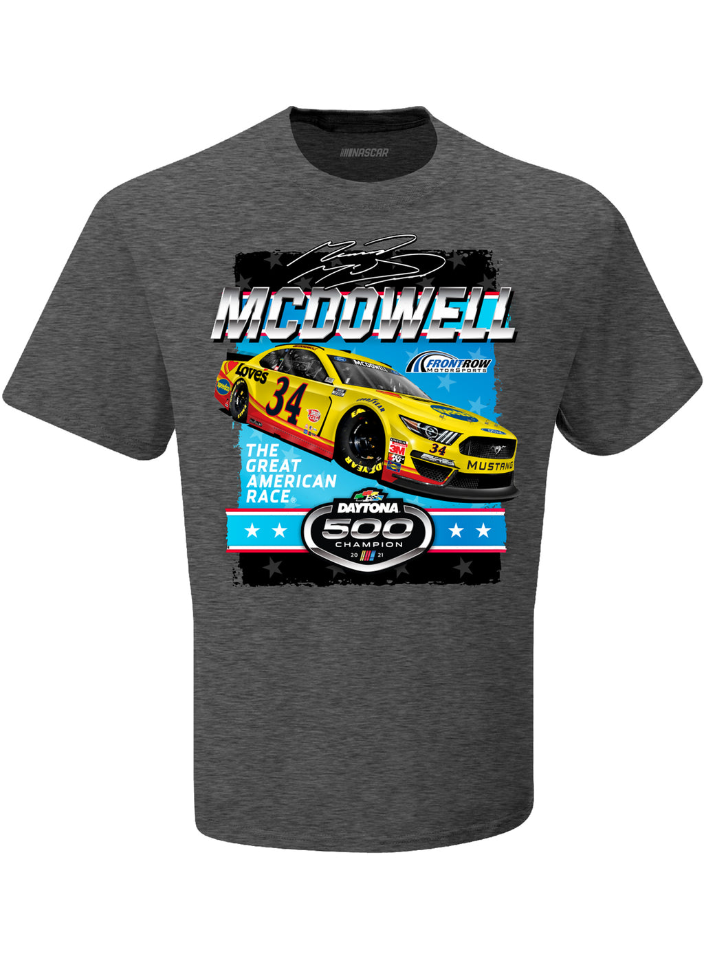 2021 DAYTONA 500 Michael McDowell Champion T-Shirt