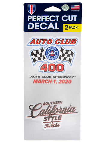 2020 Dixie Vodka 400 2-Pack Decal