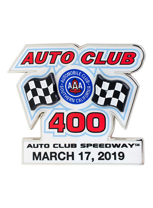 2019 Auto Club 400 Layered Hatpin