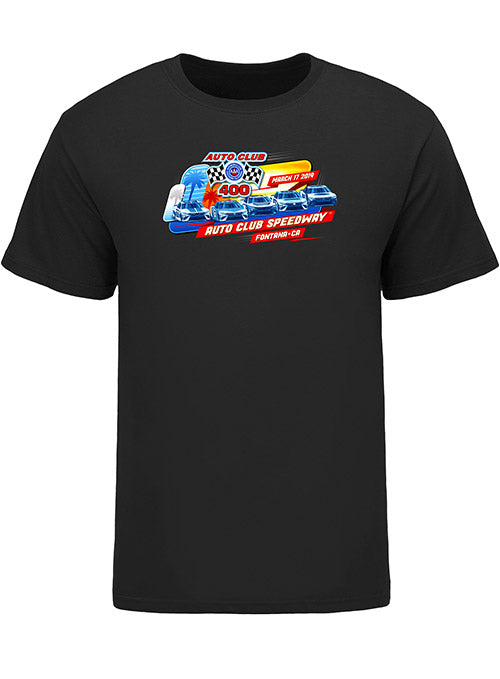 2019 Auto Club 400 5-Wide Event T-Shirt