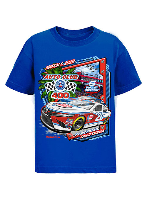 Youth 2020 Auto Club Speedway Event T-Shirt