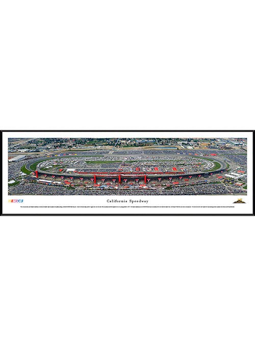 Auto Club Speedway Standard Frame Panoramic Photo