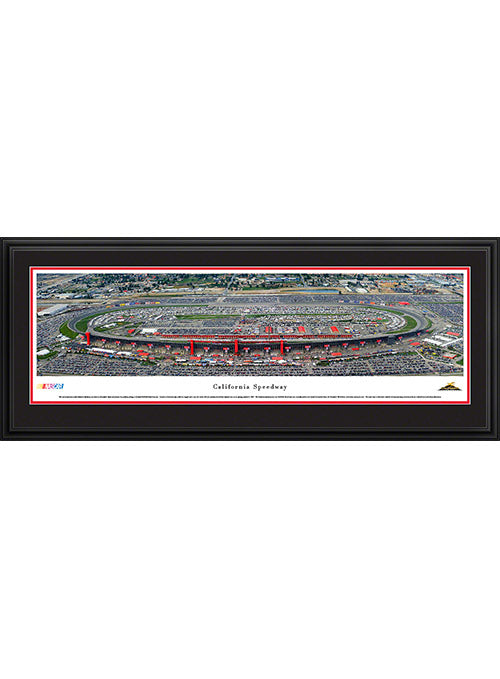 Auto Club Speedway Deluxe Frame Panoramic Photo