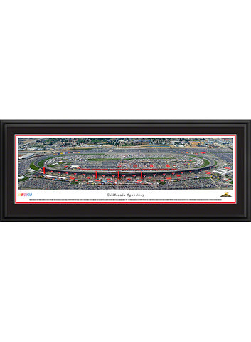 Auto Club Speedway Unframed Panoramic Photo