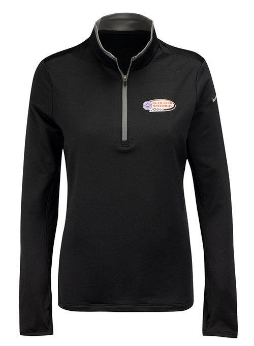 Ladies Nike Auto Club Speedway Quarter Zip Jacket