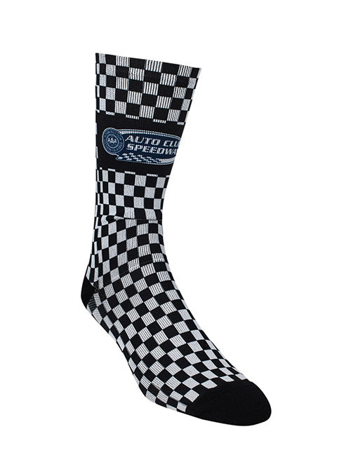 Auto Club Checkered Sock