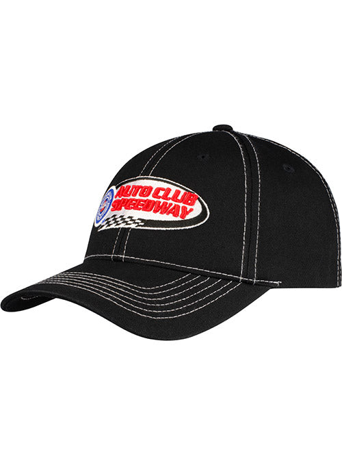 Auto Club Speedway Black Contrast Stitch Hat