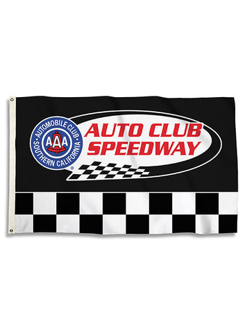 Auto Club Speedway Retro Car T-Shirt