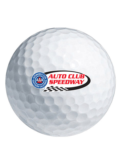 Auto Club Speedway Golf Ball