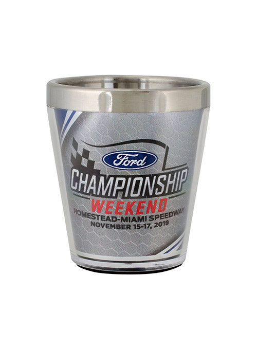 2019 Ford Championship Weekend Shot Glass