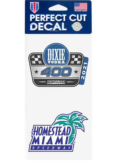 2021 Dixie Vodka 400 2-Pack Decal