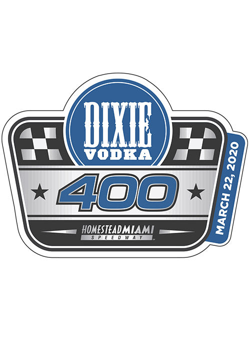 2020 Dixie Vodka 400 Layered Hatpin