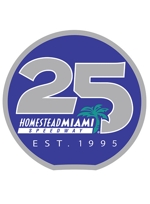 Homestead-Miami Speedway 25th Anniversary Hatpin