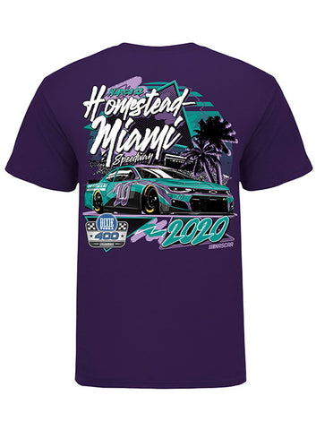Homestead-Miami Speedway Track Outline T-Shirt