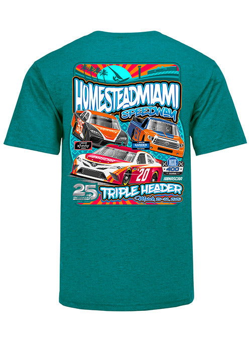 2020 Homestead-Miami Speedway Triple Header T-shirt