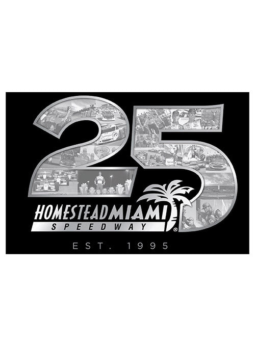 Homestead-Miami Speedway 25th Anniversary Button Magnet