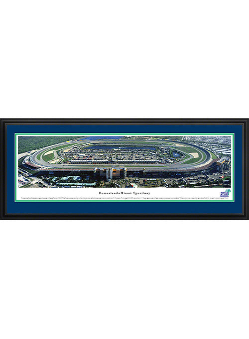 Homestead-Miami Speedway Deluxe Frame Panoramic Photo