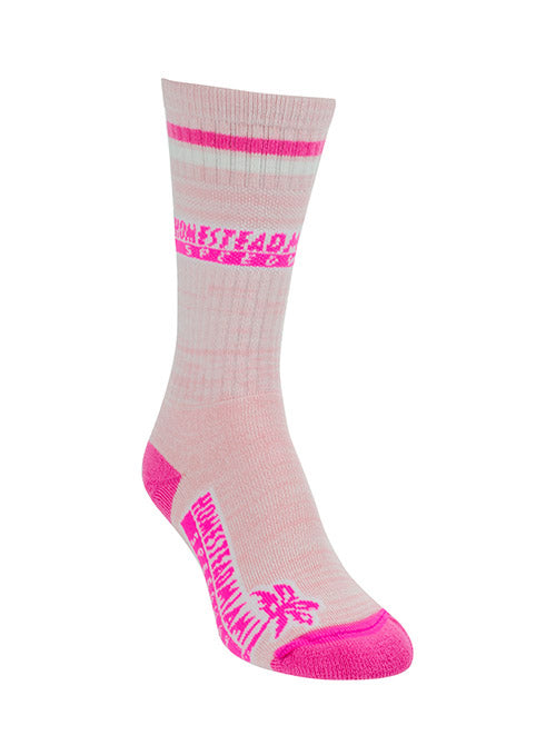 Homestead Miami Speedway Pretty in Pink Sock