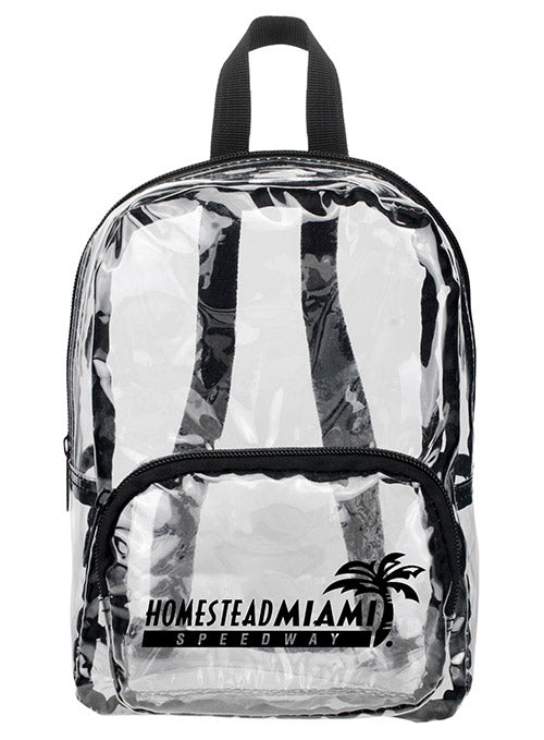 Homestead - Miami Speedway Clear Backpack