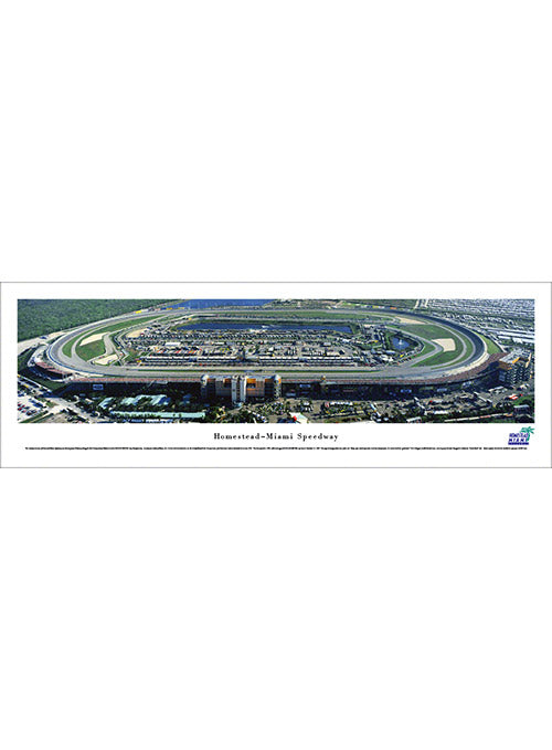 Homestead-Miami Speedway Unframed Panoramic Photo