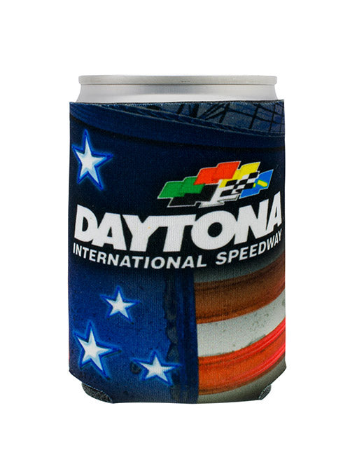 Daytona International Speedway Patriotic Can Cooler