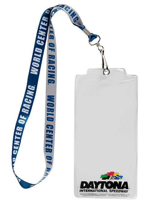Daytona International Speedway World Center Of Racing Credential Holder
