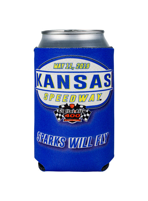 Kansas Speedway Sparks Will Fly Coozie