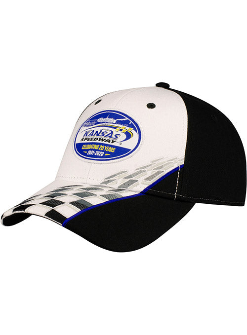 Kansas Speedway 20th Anniversary Checkered Hat