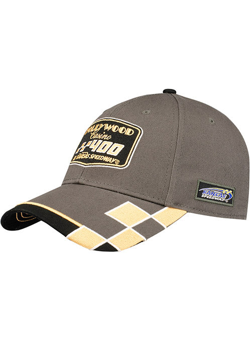 2019 Hollywood Casino 400 Charcoal Hat