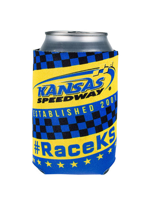 Kansas Speedway Can Coozie