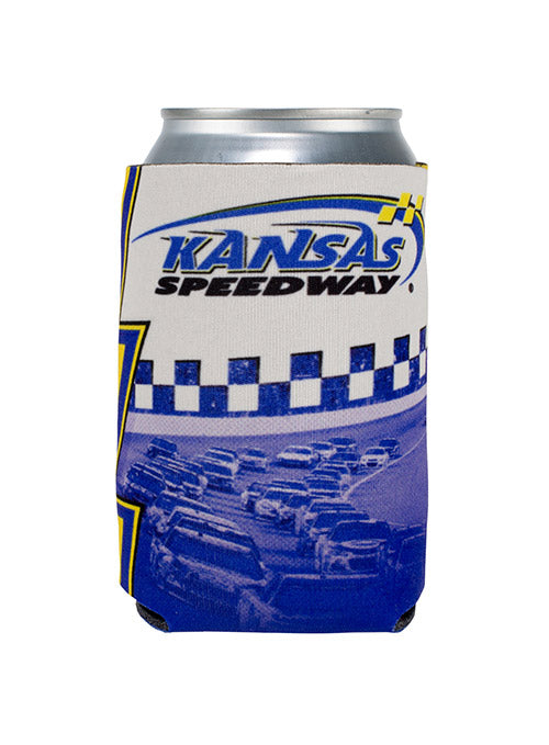 Kansas Speedway Photo Can Cooler