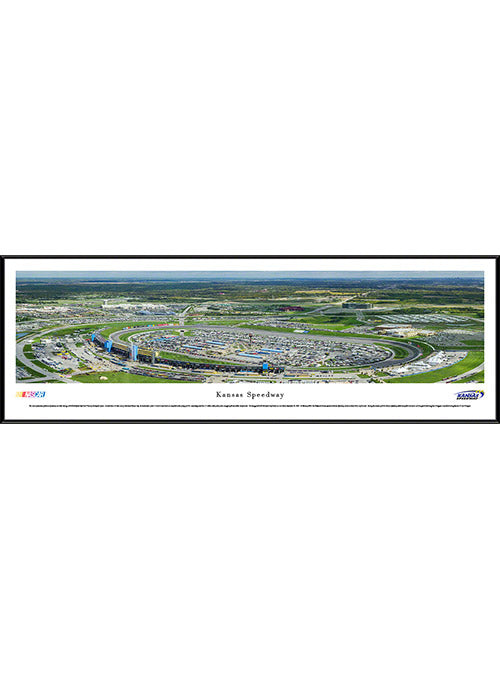 Kansas Speedway Standard Frame Panoramic Photo