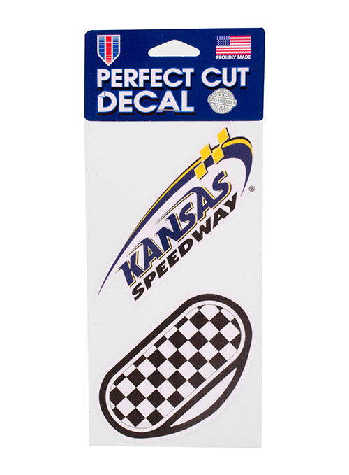 Kansas Speedway 2-Pack Decal Set
